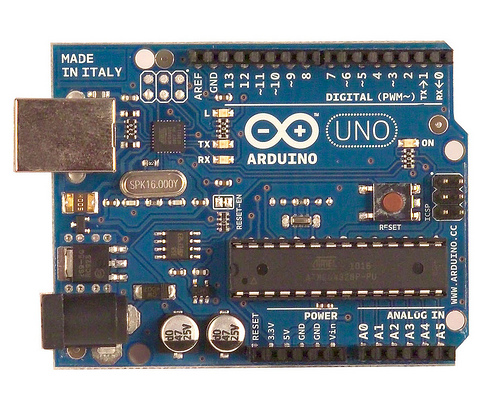 Arduino UNO with Annotations