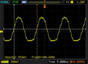 Floating Pin Oscilloscope Screenshot