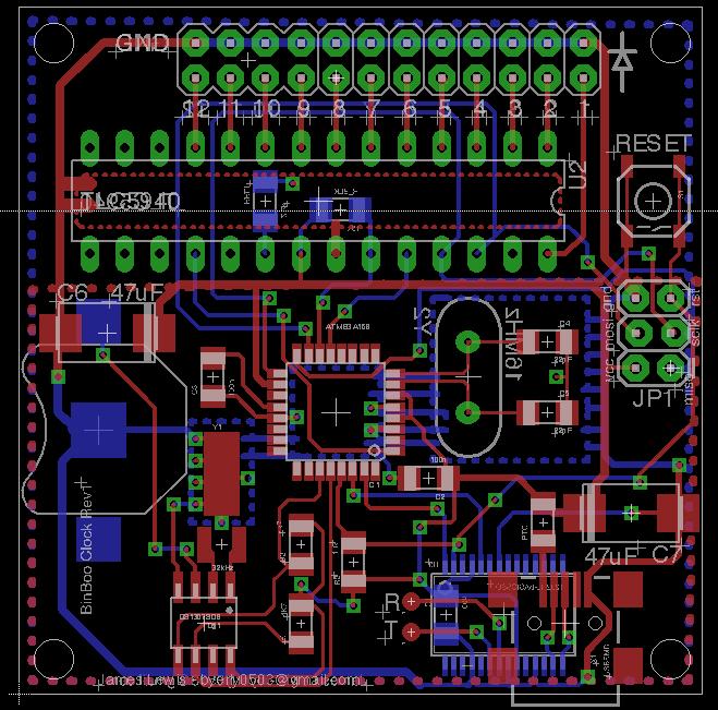 BinBoo-v1 PCB