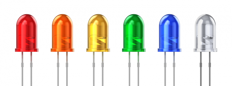 Colored LEDs