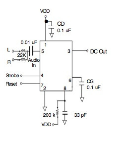 Msgeq7 Simple Spectrum Analyzer Bald Engineer. Msgeq7 Schematic. Wiring. Spectrum Dc Drive Wiring Diagram At Scoala.co