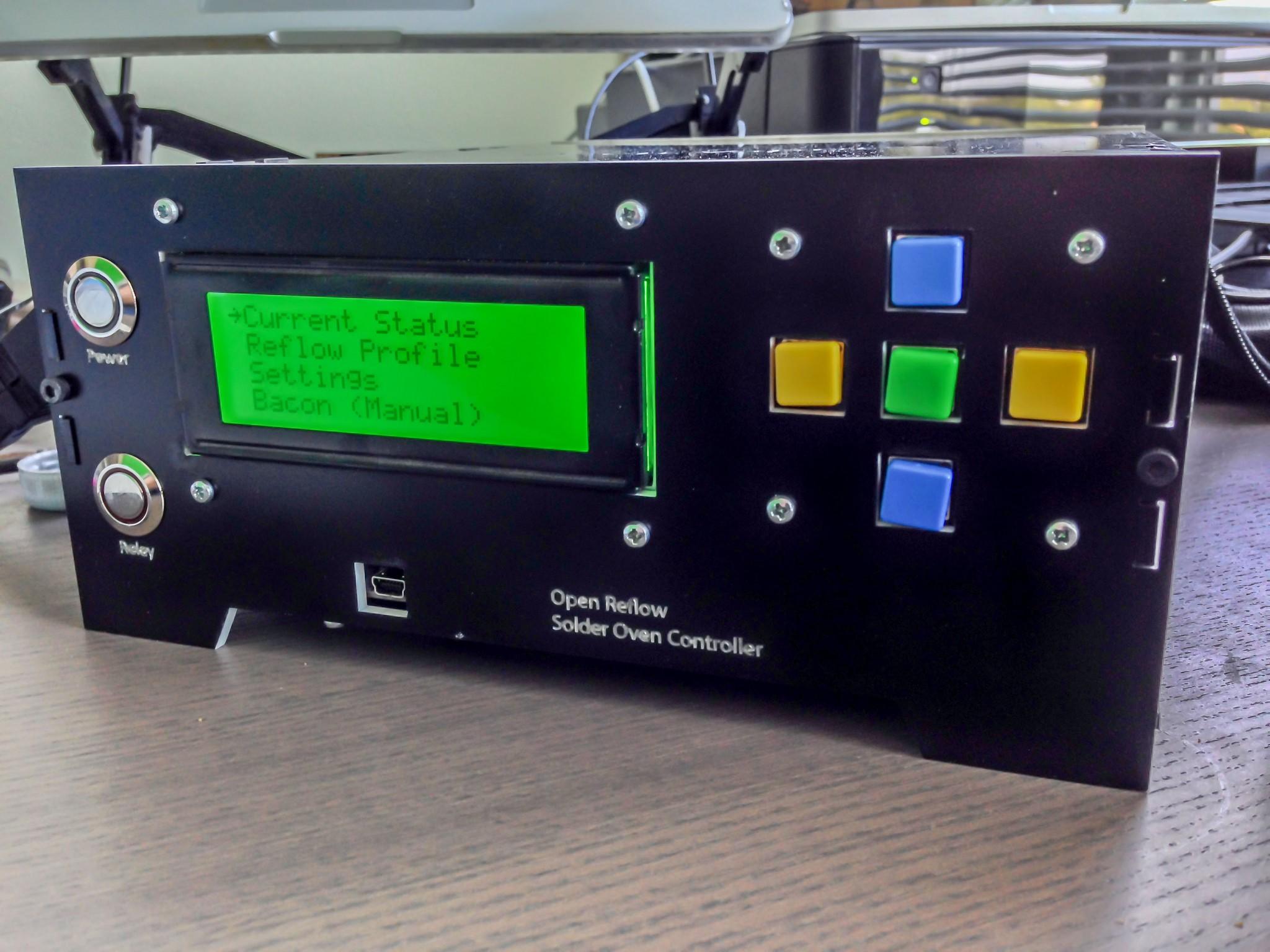 Open Vapors Reflow Oven Controller
