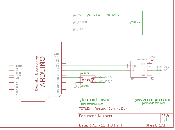 Playing With Fusion - MAX31855 K-Type Thermocouple Arduino