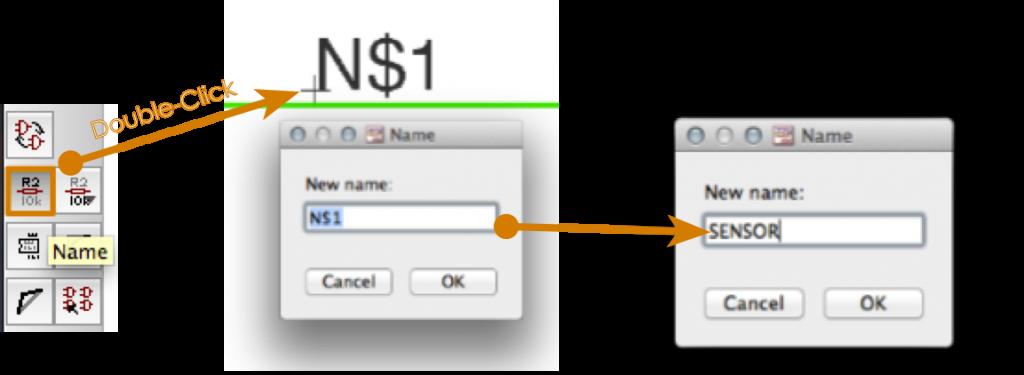 EAGLE: Change Net Name