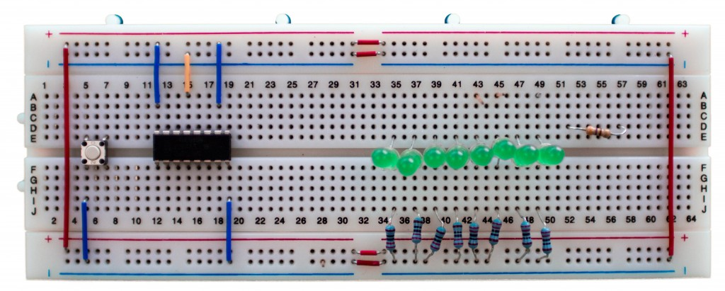 Populated Breadboard