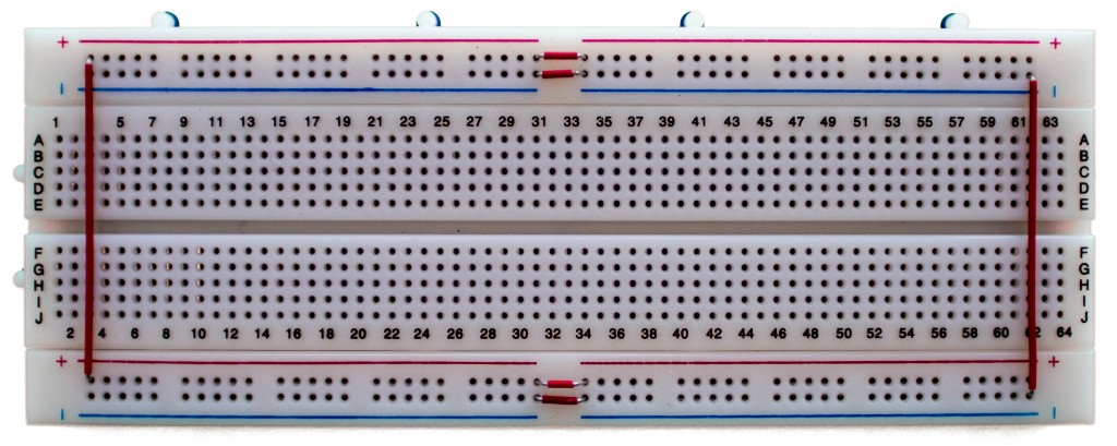 My configured breadboard