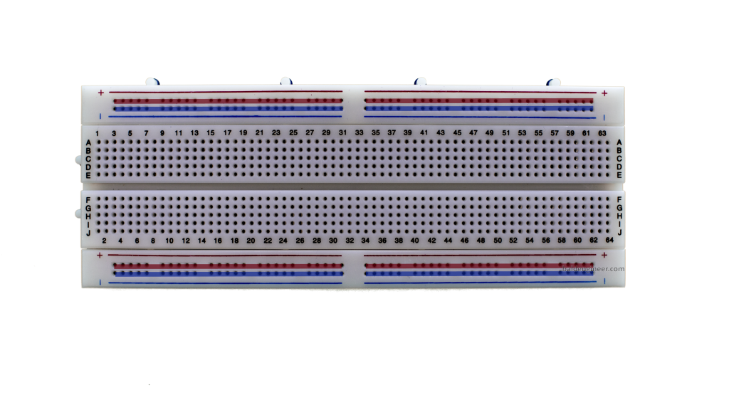 Power Rails on a Breadboard