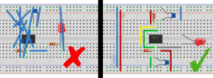 Same Circuit, Two Layouts.