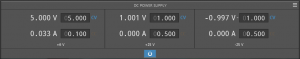 GUI for DC Supply