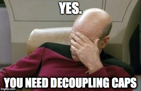 Captain Picard on Decoupling Caps
