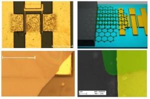 Graphene Quilts in GaN Transistors