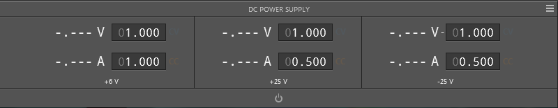 Programmable Power Supply Interface