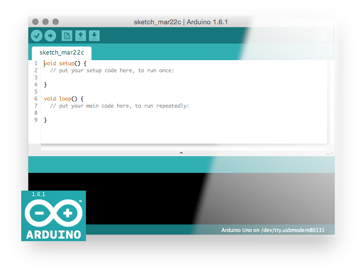 Arduino 1.6.1 Screenshot