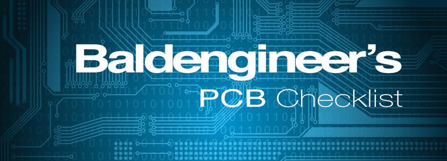 PCB Checklist Banner