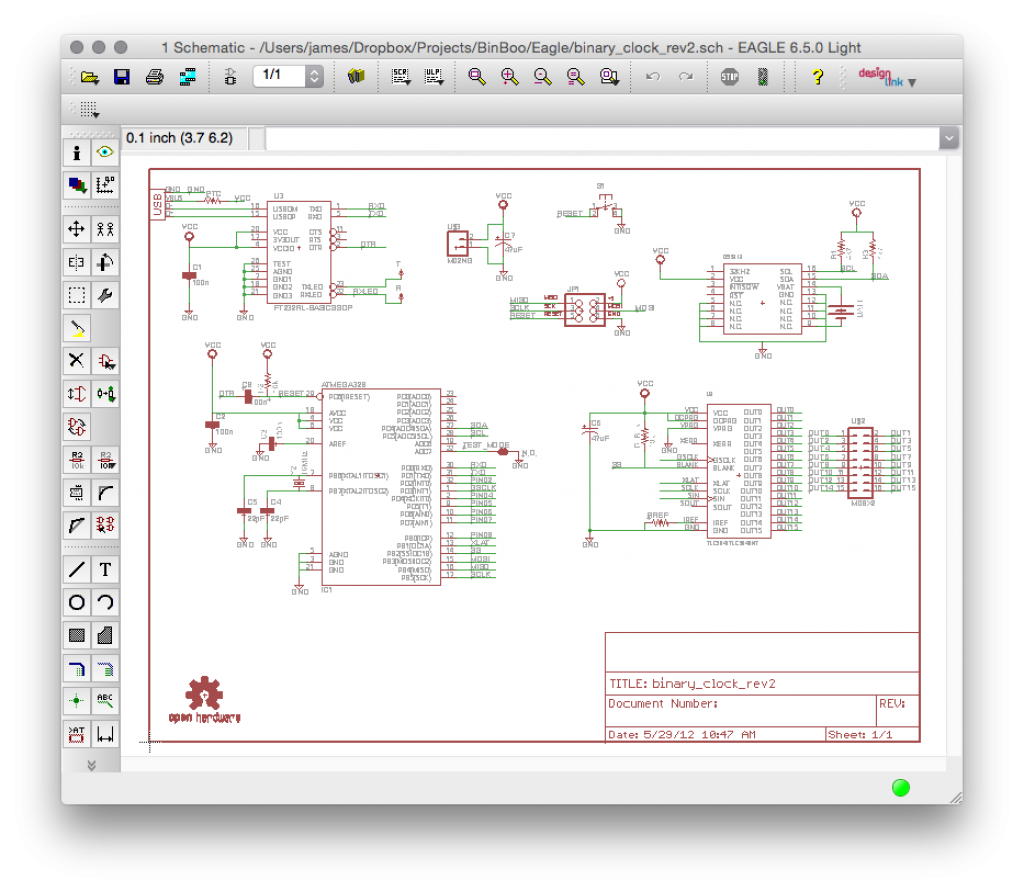 Five Ways To Make A Schematic Quickly Bald Engineer Electronics And Communication Engineering Electronic Block Diagram Of Eagle Example