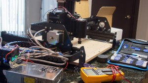 X-Carve with Electronics