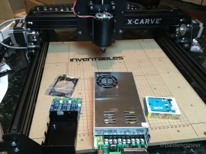 X-Carve with Arduino and gShield