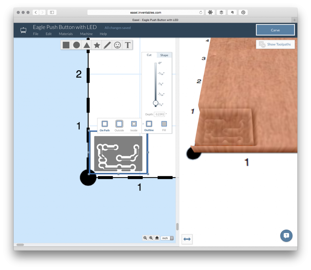 Easel is Web-Based CAD/CAM