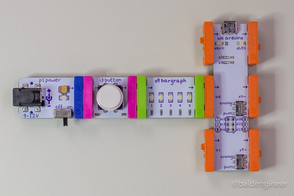 4C - littleBits Modules Connected