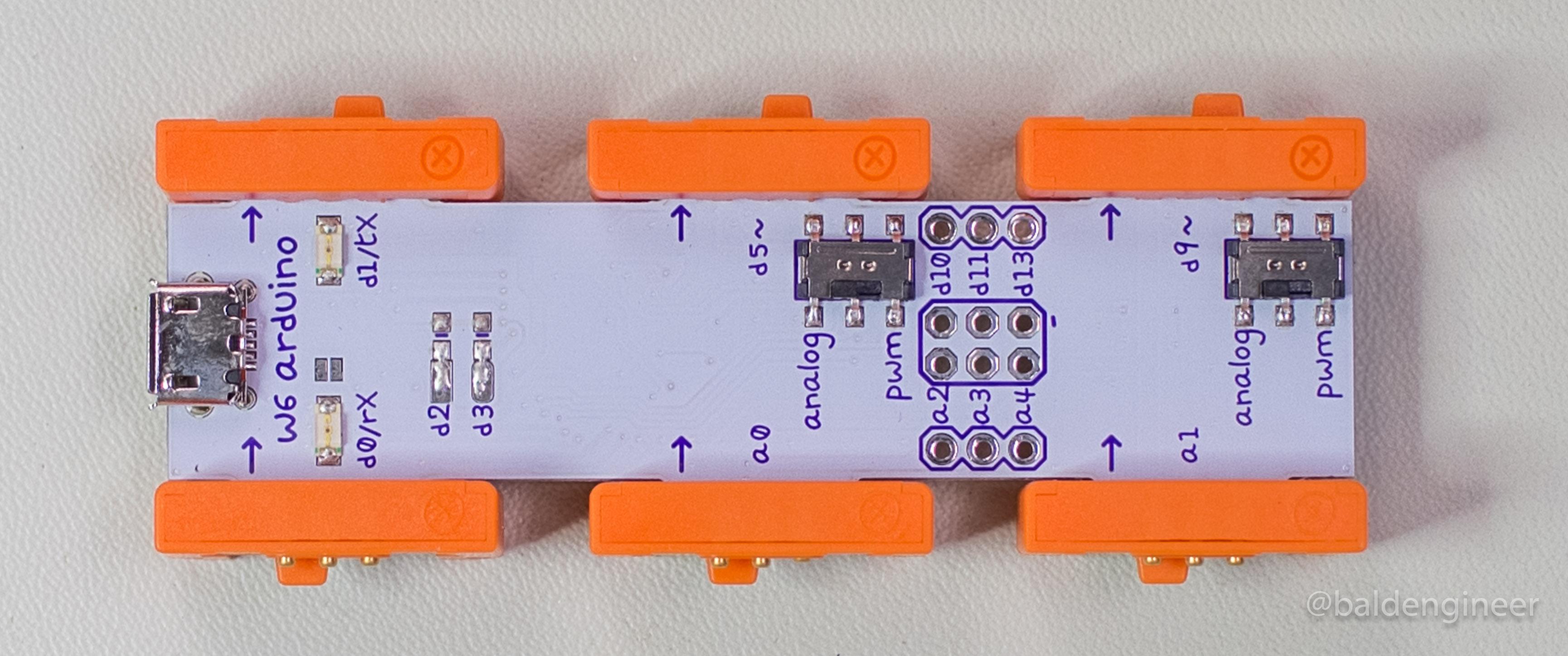 4b - littleBits Base Arduino