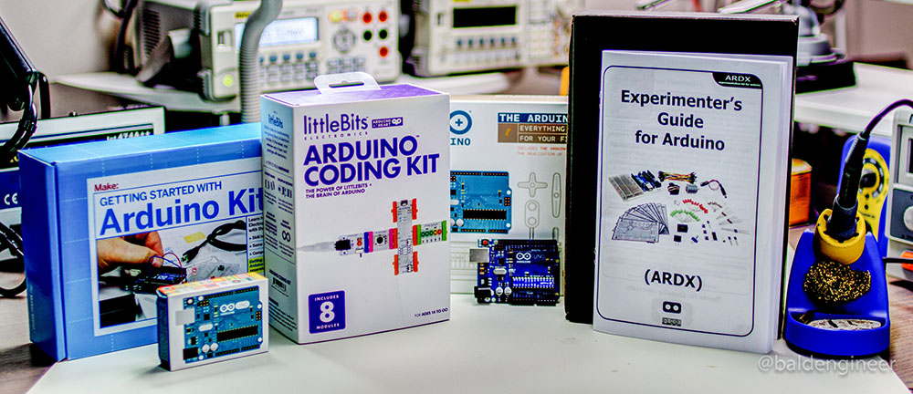 Which arduino starter kit is the best bald engineer