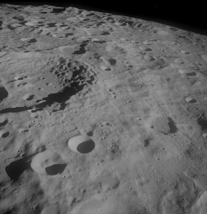 moon from apollo project archive
