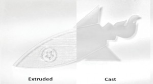 Acrylic difference between cast and extruded