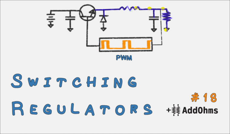 Switching Voltage Regulator - AddOhms Banner