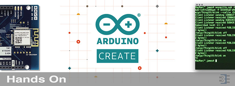 Hands on with arduino create and iot bald engineer