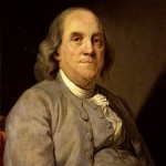 Ben Franklin Father of Current Flow