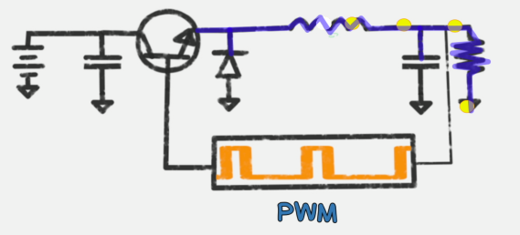 buck converter with pwm