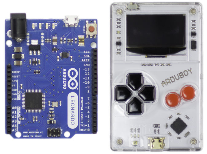 Comparing Arduino and Arduboy