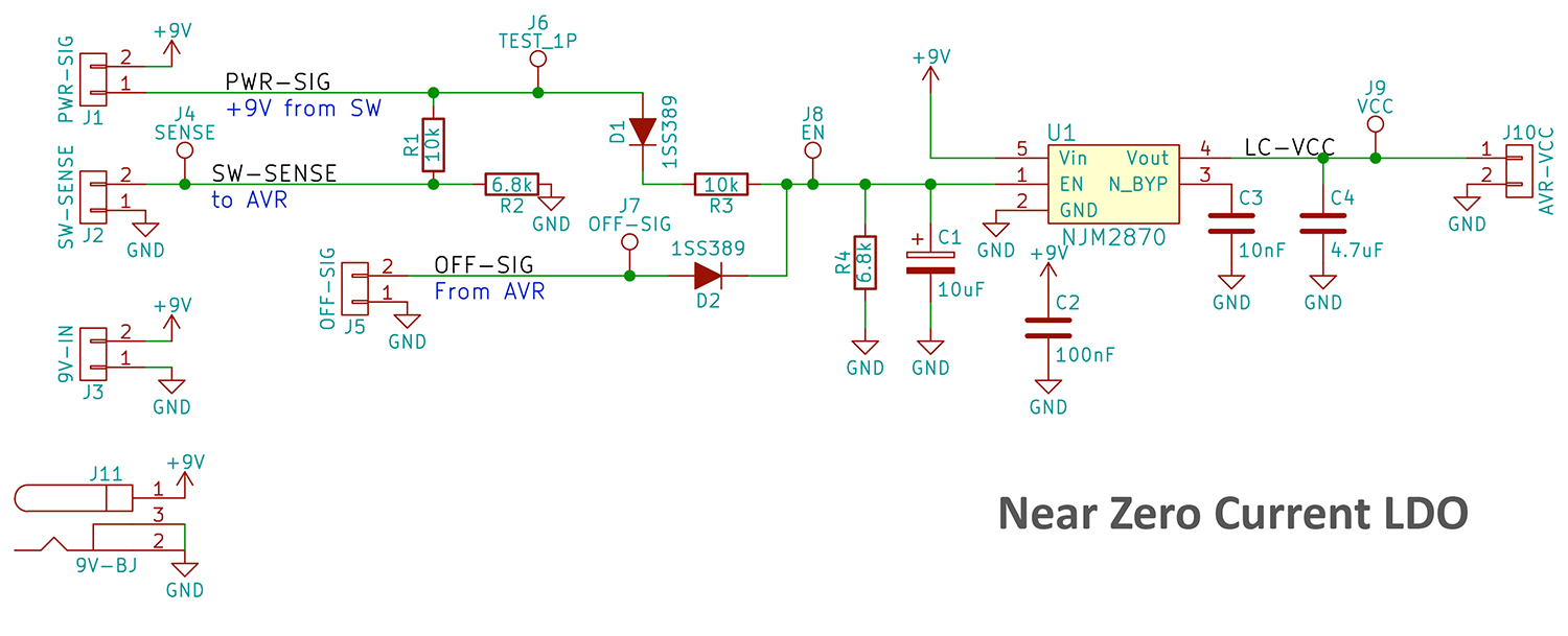 Push Button Soft Latching Toggle Power On Off Switch Circuit Diagram