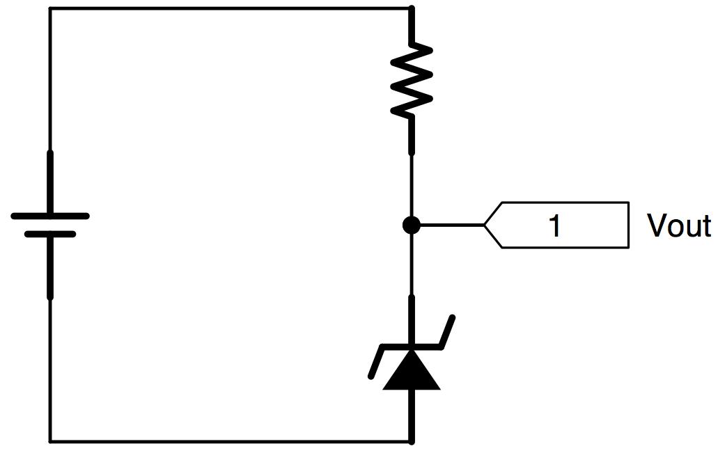 zener diode makes for a lousy regulator