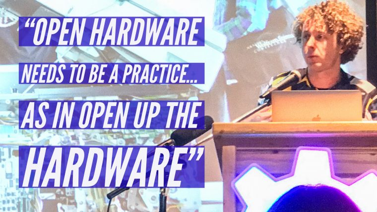 Open Source Hardware Summit 2017 Quote