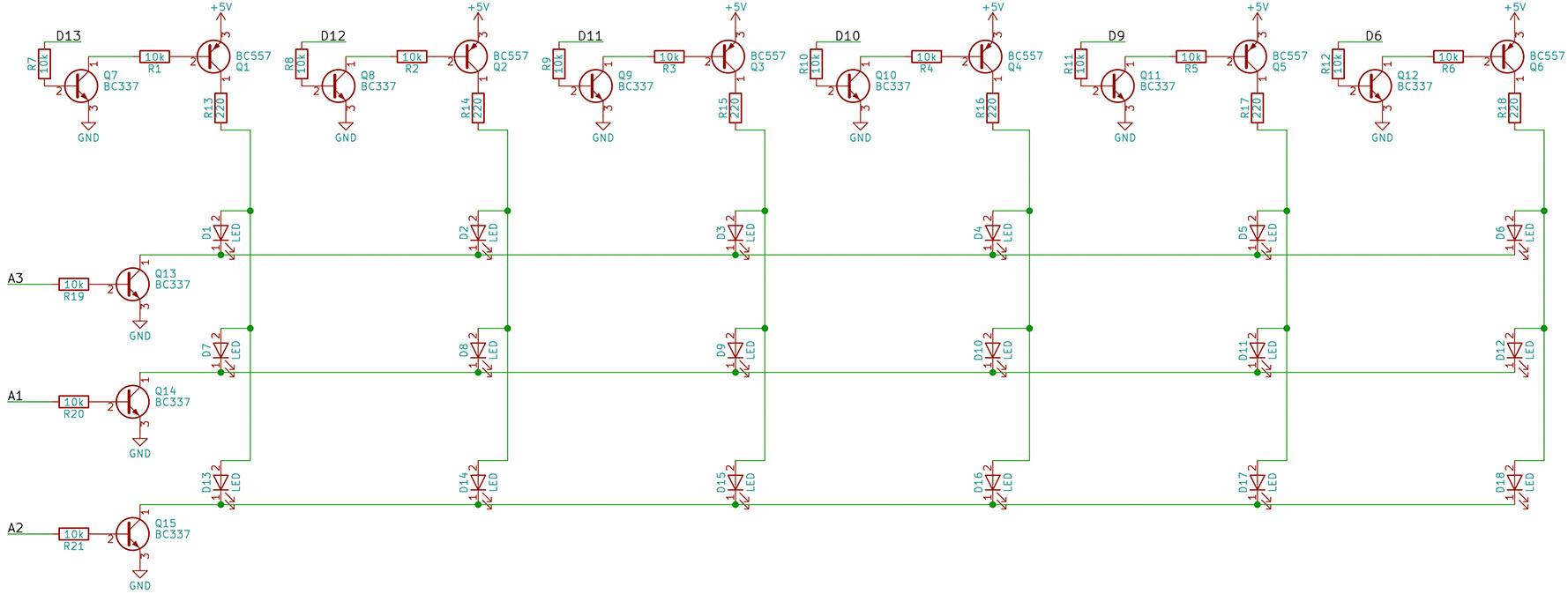 Python Heart Matrix Schematic