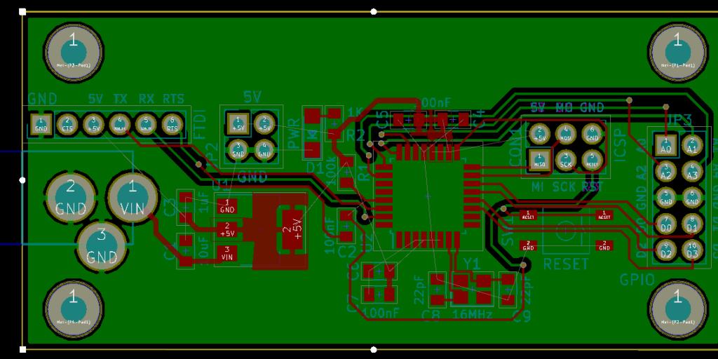 boring rectangular arduino nano clone