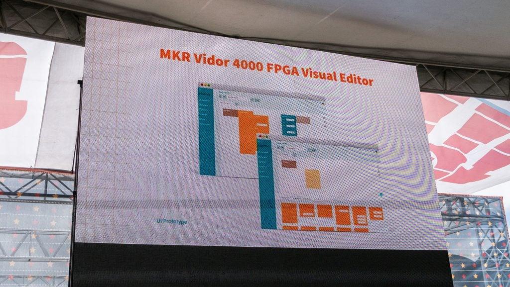 MKR Vidor 4000 Visual FPGA Editor