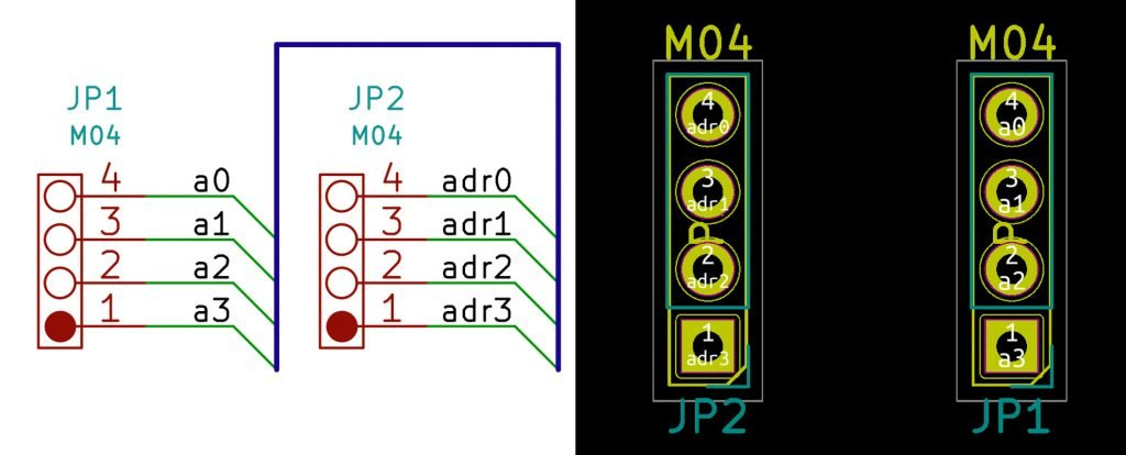 KiCad Mixed Label Names