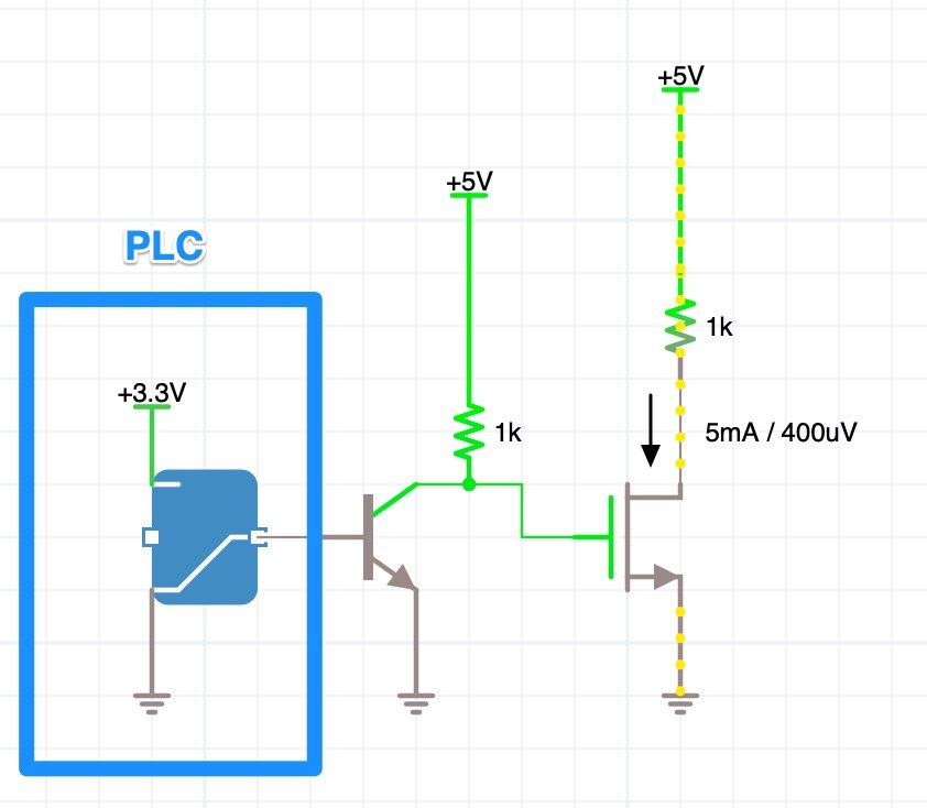 P-Channel MOSFET Tutorial with only Positive Voltages on