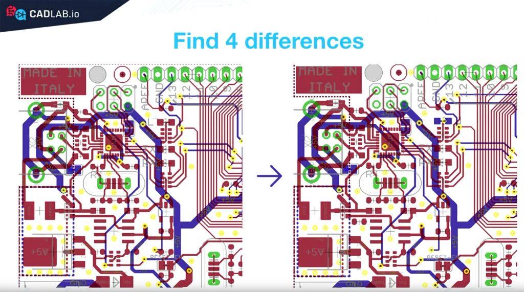 CADLAB.io Arduino PCB Visual Compare